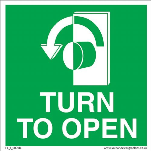Turn to open Left